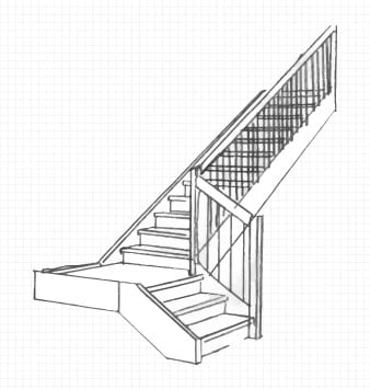 Six Distinct Staircase Styles An In Depth Look Glacial Wood