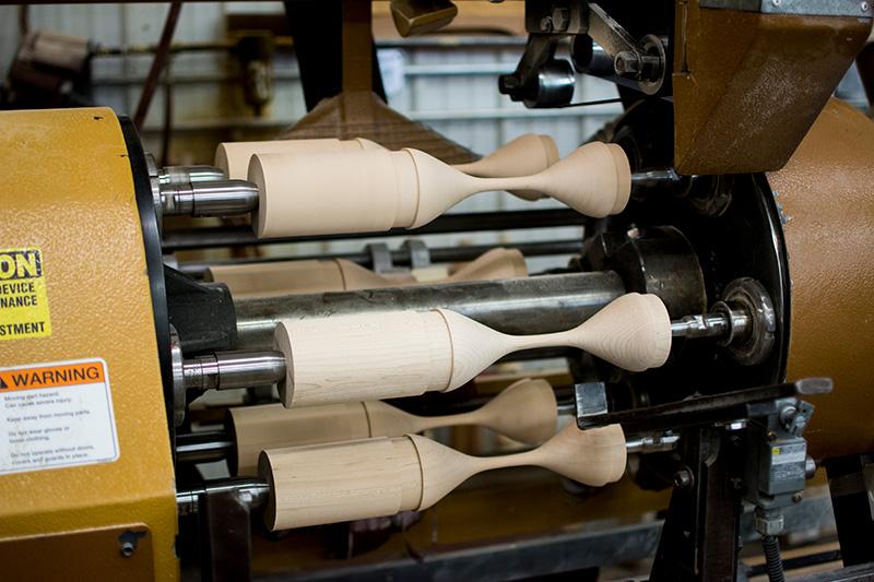 Custom turned wood products